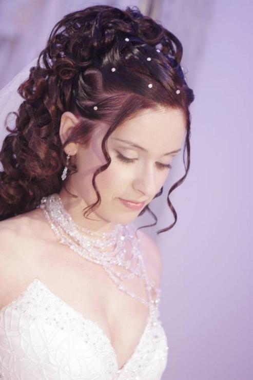 Красивые прически на свадьбу видео