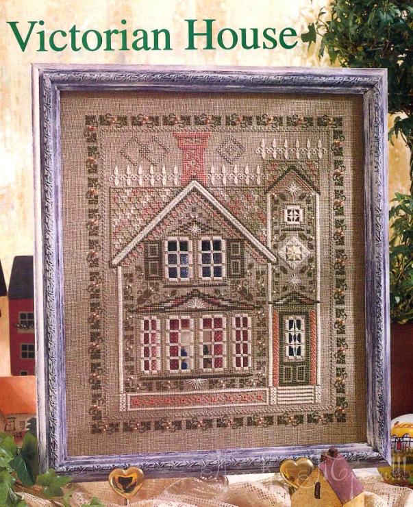 Victorian House, хардангер , список нужных материалов
