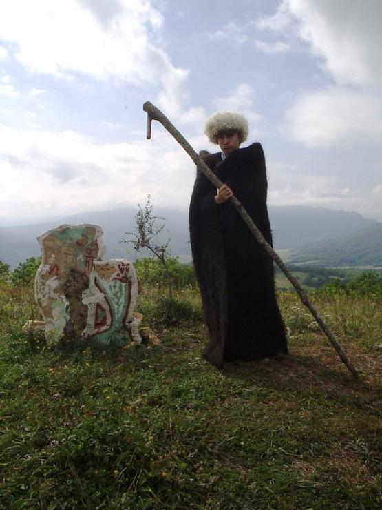 Gallery.ru / Примерьте костюм чабана - Альпийские луга и ледники ...